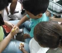 Children Care House Rio de Janeiro Painting Time