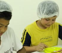 Community Center Baking Kids