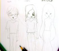 Community Center Kids Draw