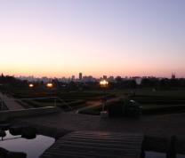Curitiba Botanical Garden Sunset