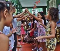 Educational Center Volunteer Dancing