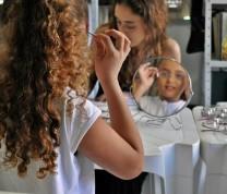 Educational Center Volunteer Eye and Glasses