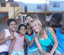 Educational Center Volunteer Fun and kids