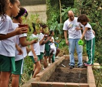 Educational Center Volunteer Gardening