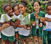 Educational Center Volunteer Kids Gardening