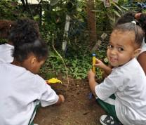 Educational Center Volunteer Kids Playing