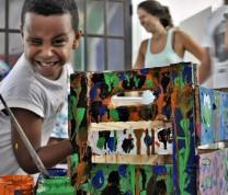 Educational Center Volunteer Painting