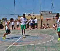 Educational Center Volunteer Soccer Tim