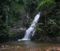 Environmental Conservation Small Waterfall