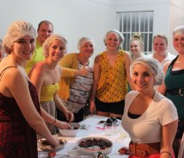Faculty-Led Program Classes Local Culinary Brazilian Dishes
