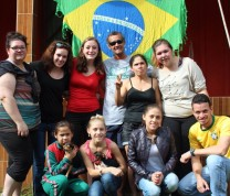 International Service Learning Brazilian Flag NMC