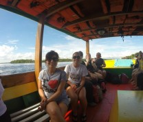 International Service Learning NDSU Boat Ride