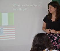 Volunteer Teach Abroad Flags and Colors