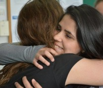 Volunteer Teach Abroad Teacher Hugs Students
