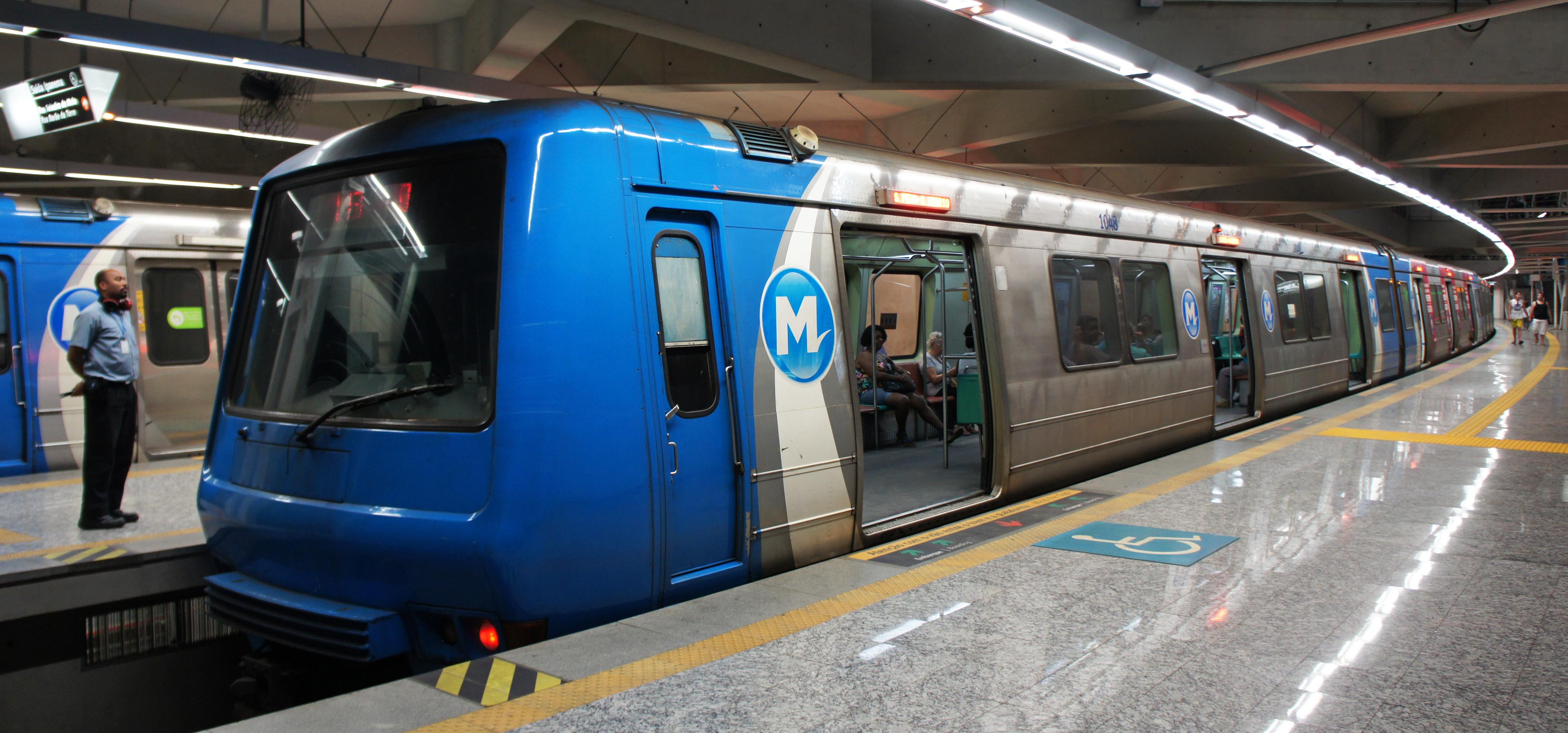 Public transportation rio de janeiro brazilian experience for Do metro trains have bathrooms